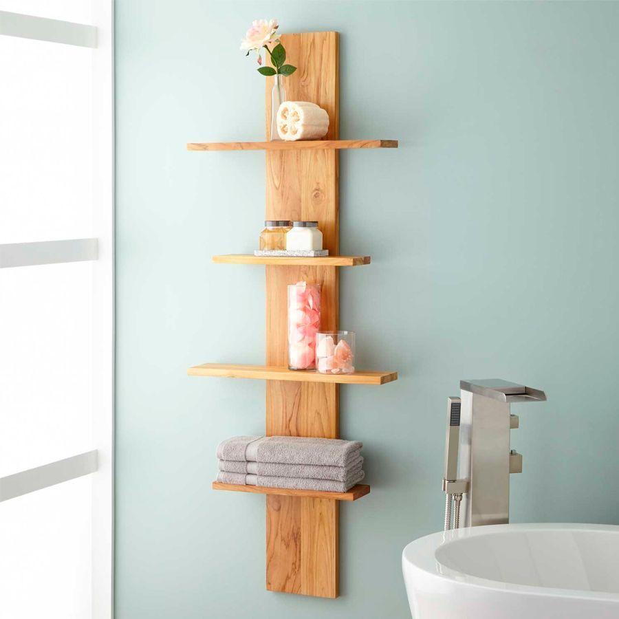 10 consejos para organizar tu ba o for Colgador de toallas de bano
